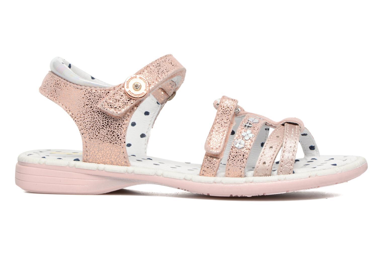 Sandales et nu-pieds Catimini Pastel Rose vue derrière
