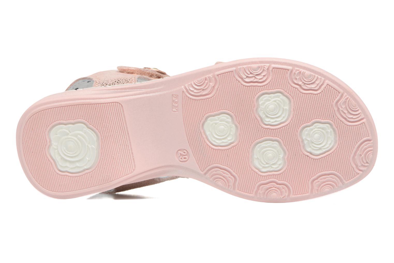 Sandales et nu-pieds Catimini Pastel Rose vue haut