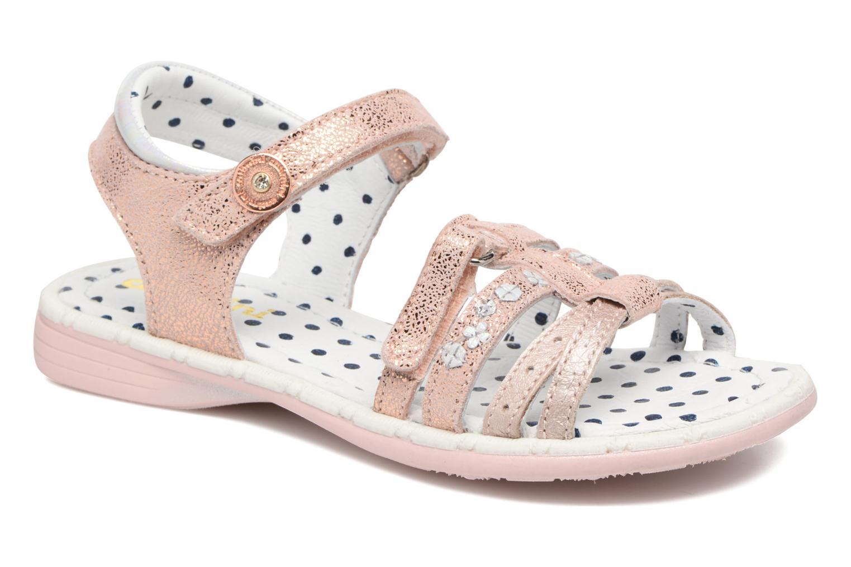 Sandales et nu-pieds Catimini Pastel Rose vue détail/paire