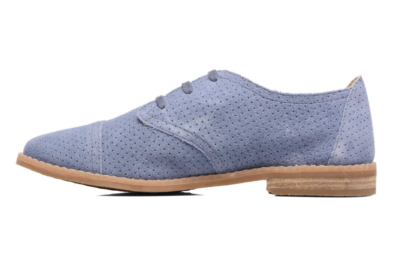 Chaussures à lacets Hush Puppies Aiden Bleu vue face