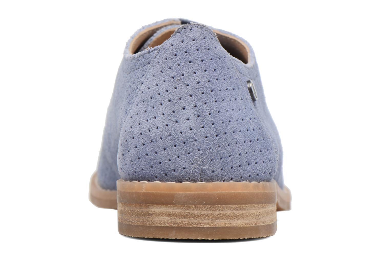 Chaussures à lacets Hush Puppies Aiden Bleu vue droite