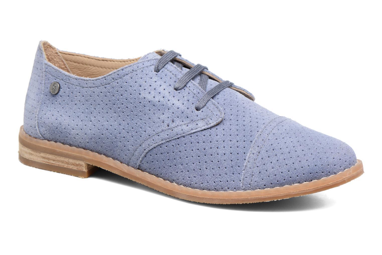 Chaussures à lacets Hush Puppies Aiden Bleu vue détail/paire