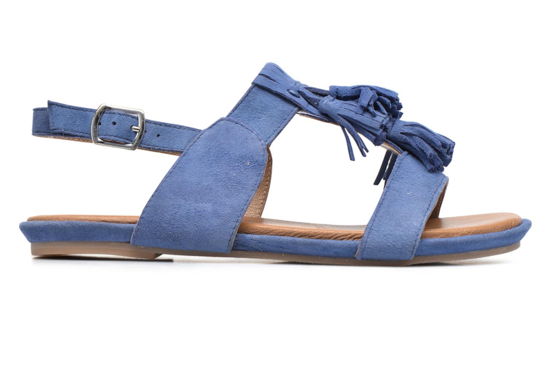 Sandales et nu-pieds Hush Puppies Gandy Bleu vue derrière