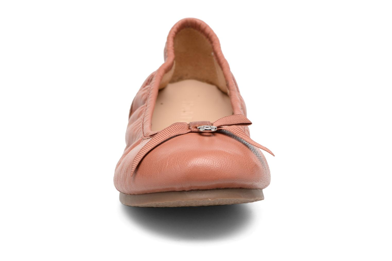 Ballerines Hush Puppies Lilas Rose vue portées chaussures