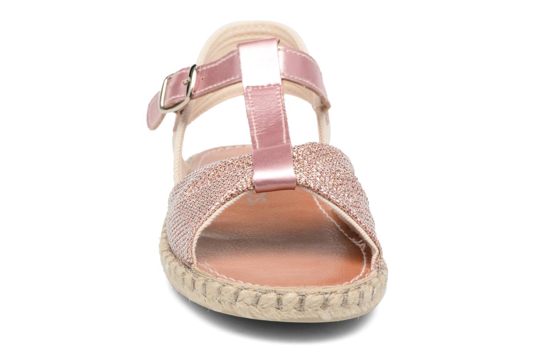 Sandales et nu-pieds Conguitos Dulce Rose vue portées chaussures