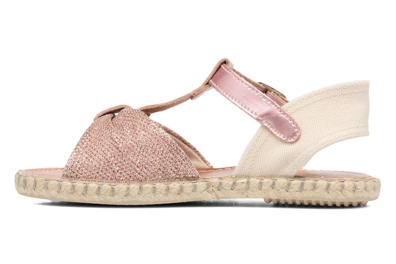 Sandales et nu-pieds Conguitos Dulce Rose vue face