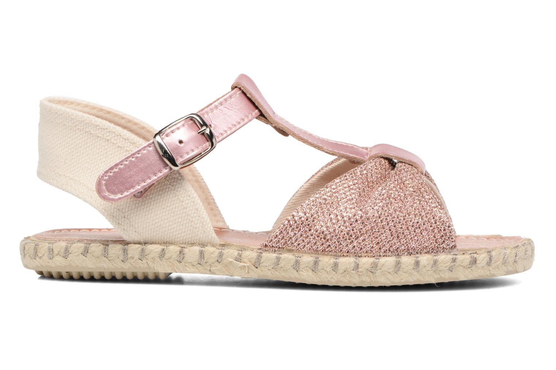 Sandales et nu-pieds Conguitos Dulce Rose vue derrière