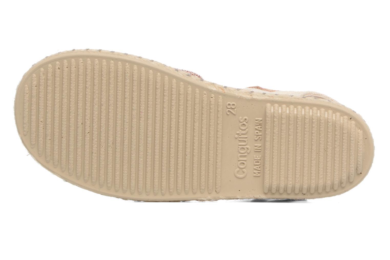 Sandales et nu-pieds Conguitos Dulce Rose vue haut