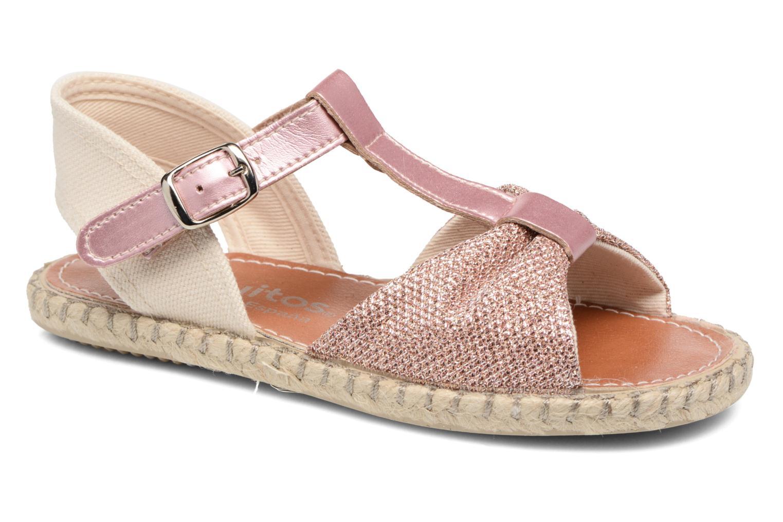 Sandales et nu-pieds Conguitos Dulce Rose vue détail/paire