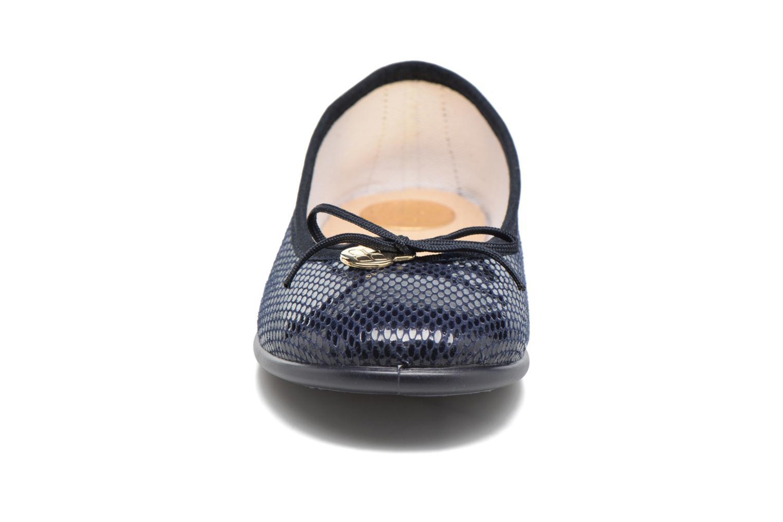 Ballerines Fresas by Conguitos Catalia Bleu vue portées chaussures