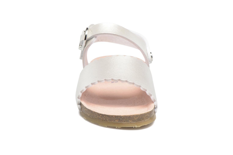 Sandales et nu-pieds Osito by Conguitos Bella Argent vue portées chaussures