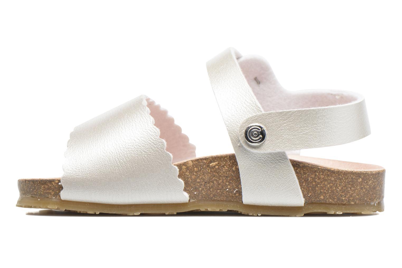 Sandales et nu-pieds Osito by Conguitos Bella Argent vue face