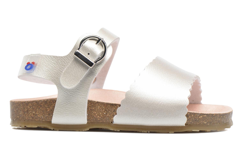 Sandales et nu-pieds Osito by Conguitos Bella Argent vue derrière
