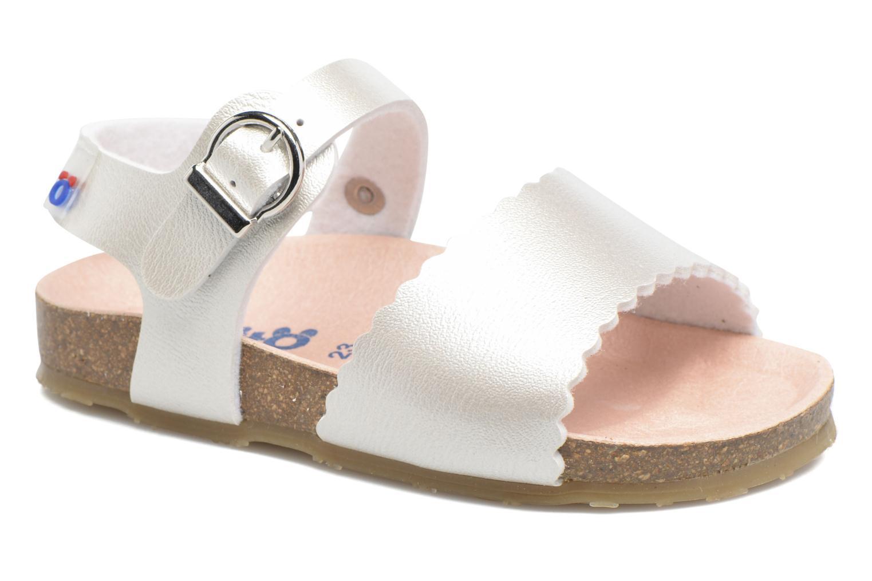Sandales et nu-pieds Osito by Conguitos Bella Argent vue détail/paire