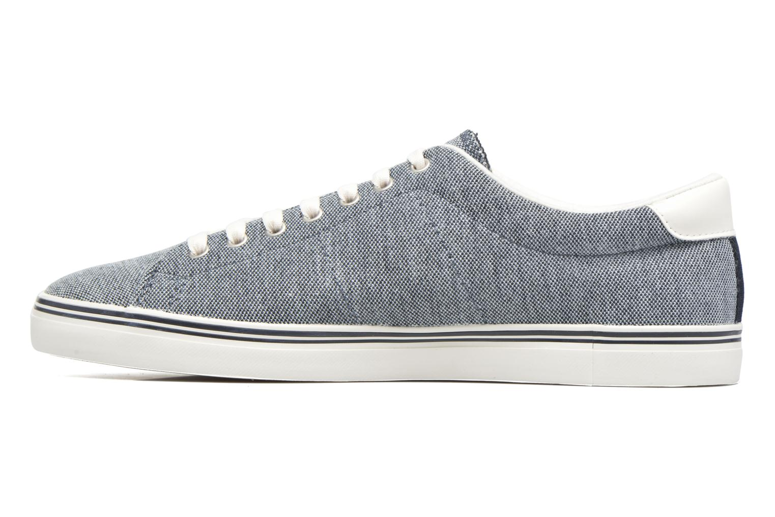 Baskets Fred Perry Underspin Oxford Bleu vue face