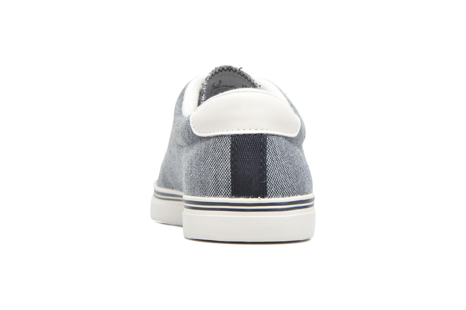 Baskets Fred Perry Underspin Oxford Bleu vue droite