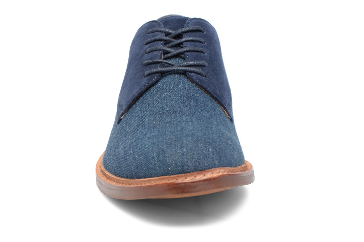 Chaussures à lacets Aldo ULERADIEN Bleu vue portées chaussures