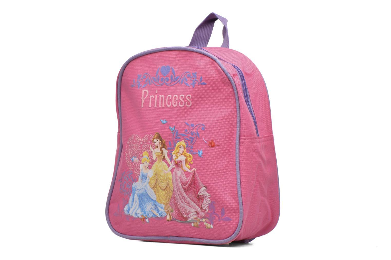 Sacs à dos Disney Sac à dos Princess 22cm Rose vue portées chaussures