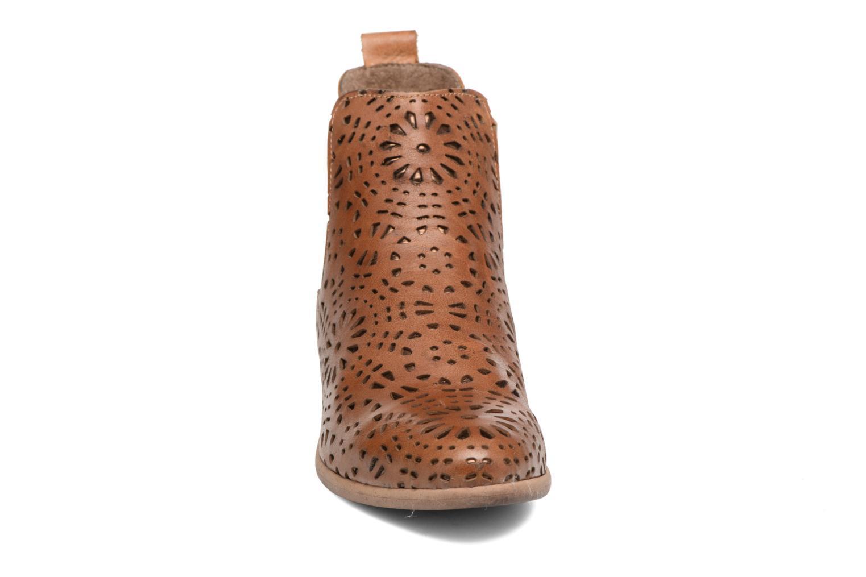Bottines et boots Bunker Zola Brenda Marron vue portées chaussures