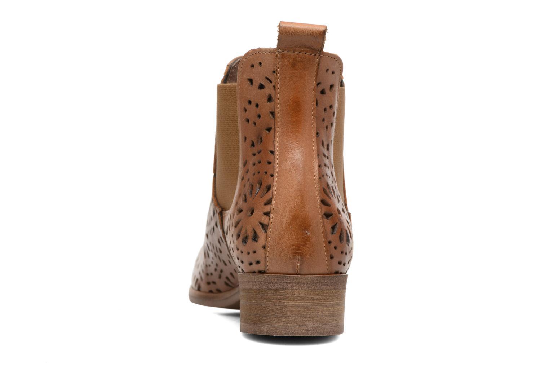 Bottines et boots Bunker Zola Brenda Marron vue droite