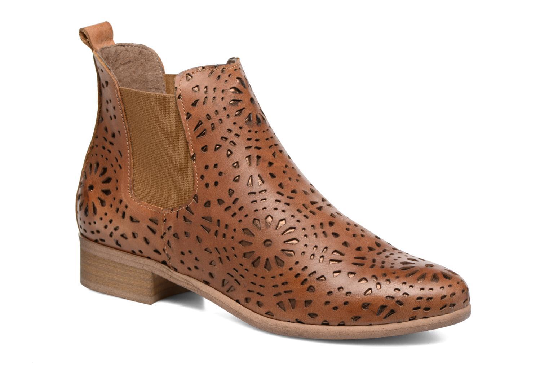 Bottines et boots Bunker Zola Brenda Marron vue détail/paire