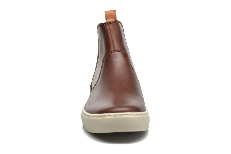 Bottines et boots Timberland Adv 2 0 Cupsole Chelsea Marron vue portées chaussures