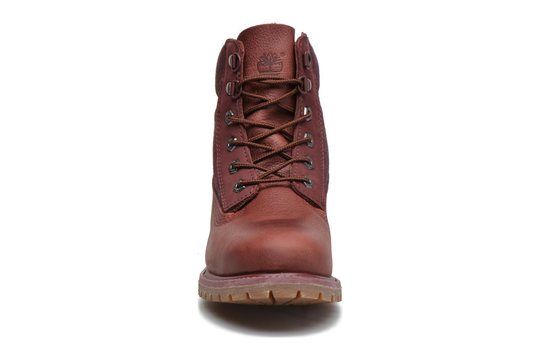 Stiefeletten & Boots Timberland 6in Premium Double weinrot schuhe getragen