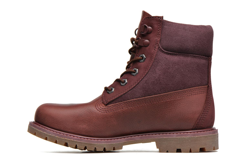 Stiefeletten & Boots Timberland 6in Premium Double weinrot ansicht von vorne
