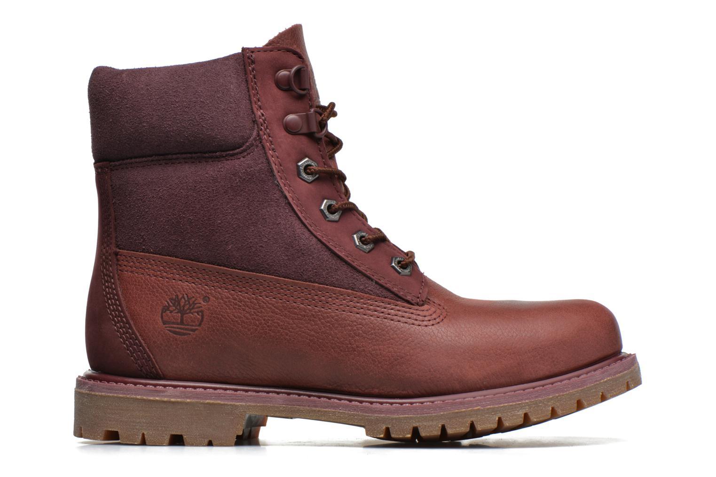 Stiefeletten & Boots Timberland 6in Premium Double weinrot ansicht von hinten