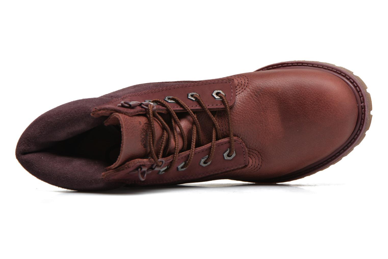 Stiefeletten & Boots Timberland 6in Premium Double weinrot ansicht von links