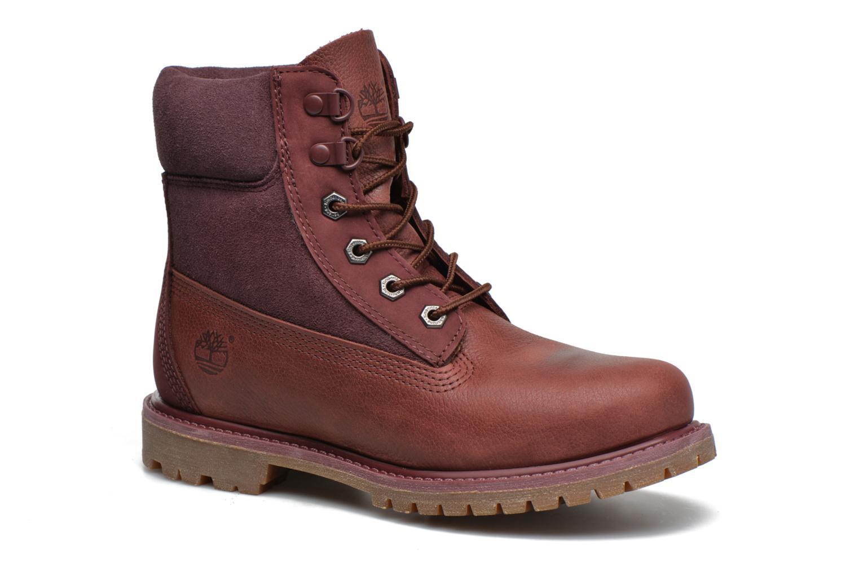 Stiefeletten & Boots Timberland 6in Premium Double weinrot detaillierte ansicht/modell