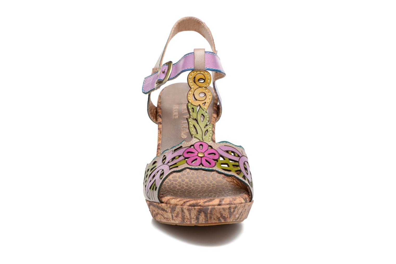 Sandales et nu-pieds Laura Vita Betty 11 Multicolore vue portées chaussures