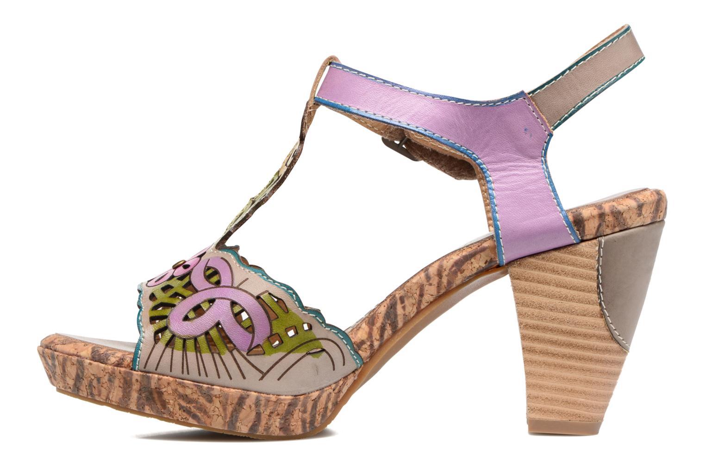 Sandales et nu-pieds Laura Vita Betty 11 Multicolore vue face