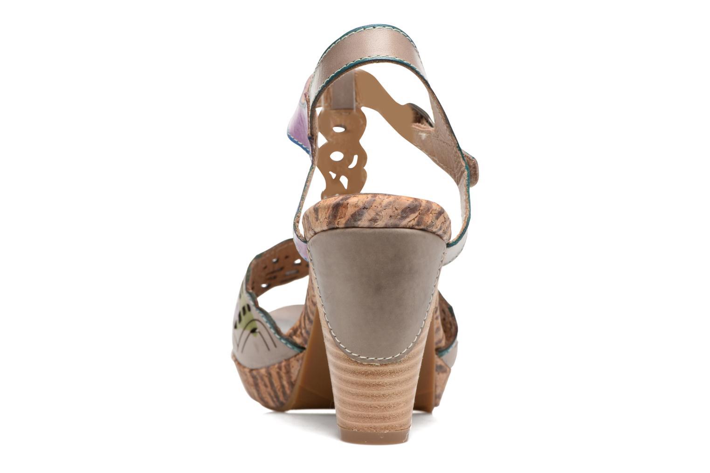 Sandales et nu-pieds Laura Vita Betty 11 Multicolore vue droite