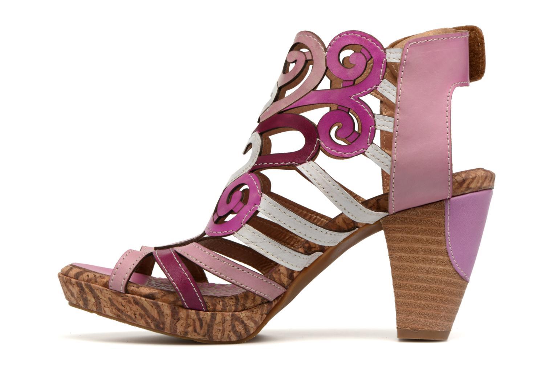 Sandales et nu-pieds Laura Vita Vexe Rose vue face