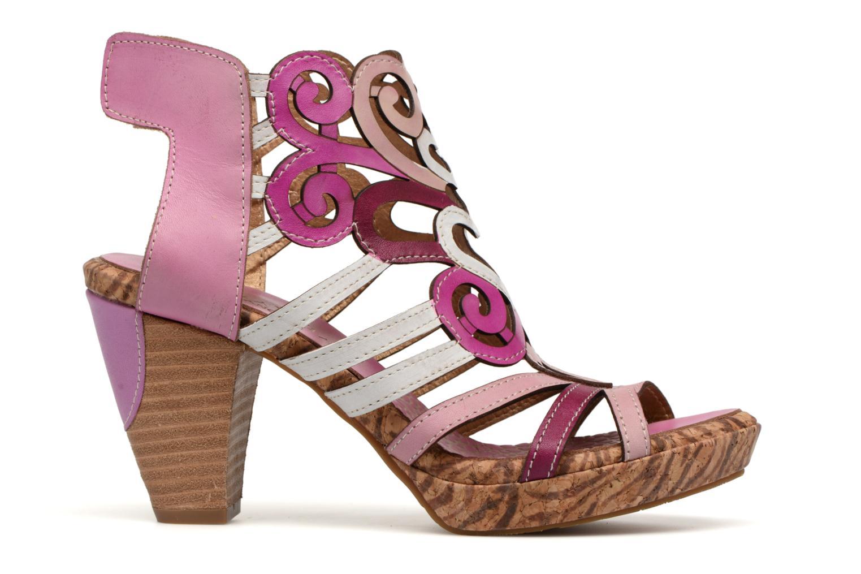 Sandales et nu-pieds Laura Vita Vexe Rose vue derrière