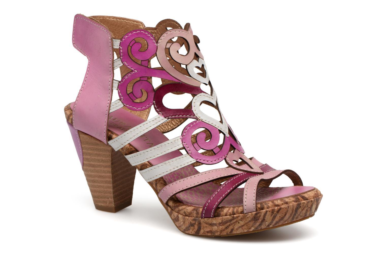 Sandales et nu-pieds Laura Vita Vexe Rose vue détail/paire