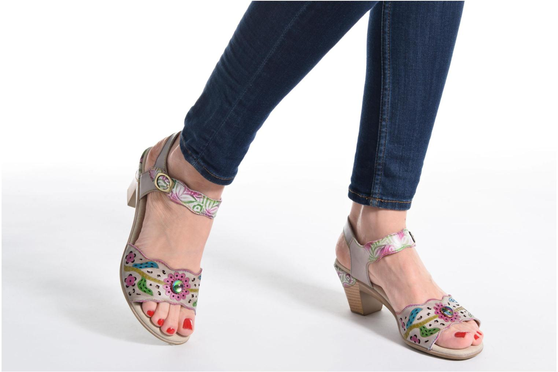 Sandales et nu-pieds Laura Vita Bettino 02 Multicolore vue bas / vue portée sac
