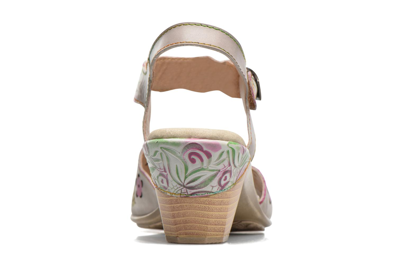 Sandales et nu-pieds Laura Vita Bettino 02 Multicolore vue droite