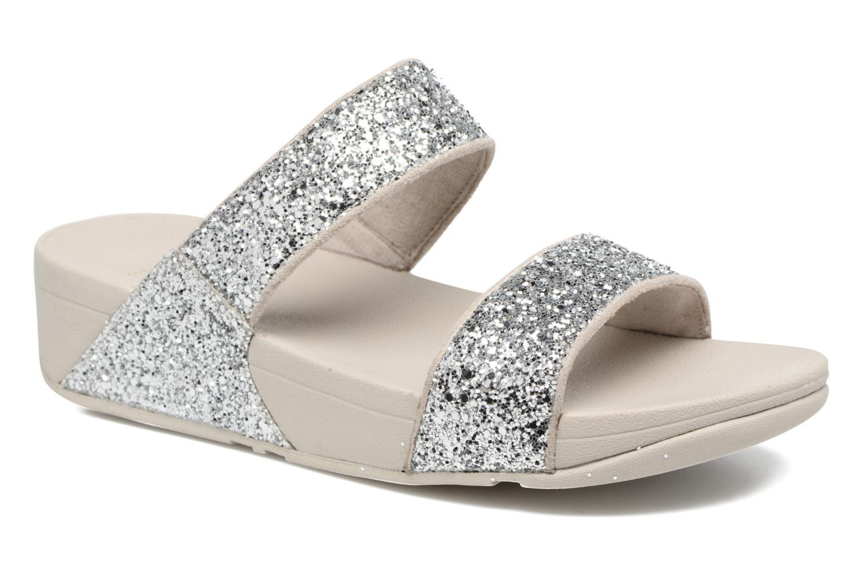 Glitterball Slide Silver glitter
