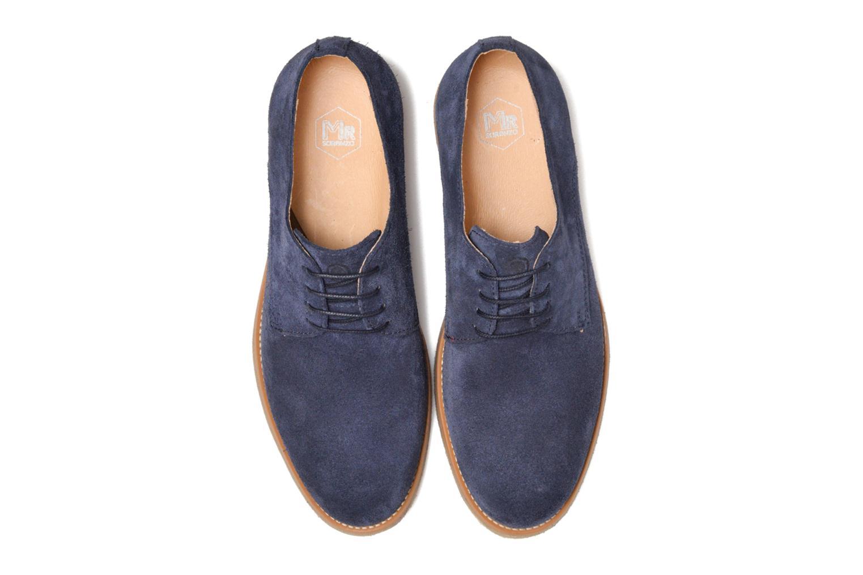Chaussures à lacets Mr SARENZA Soldn Bleu vue portées chaussures