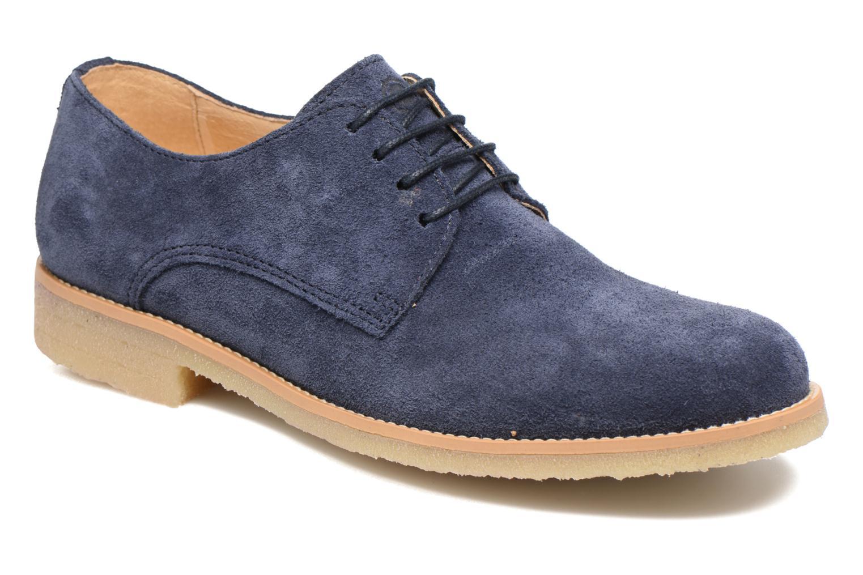 Chaussures à lacets Mr SARENZA Soldn Bleu vue droite