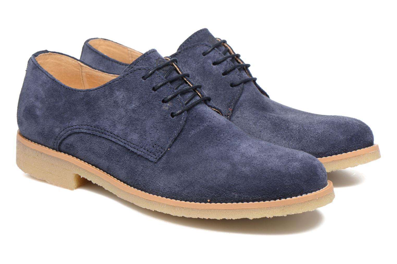 Chaussures à lacets Mr SARENZA Soldn Bleu vue derrière