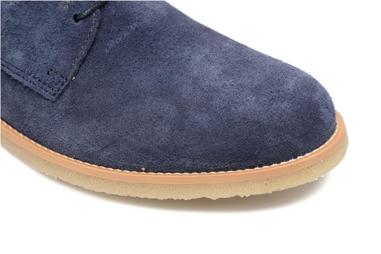 Chaussures à lacets Mr SARENZA Soldn Bleu vue gauche