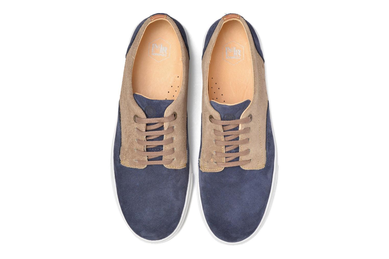 Baskets Mr SARENZA Svenica Bleu vue portées chaussures