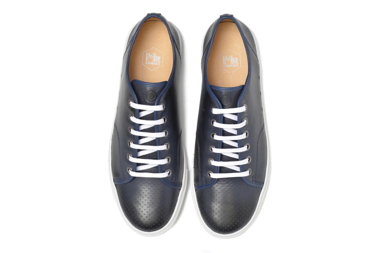 Baskets Mr SARENZA Stord Bleu vue portées chaussures