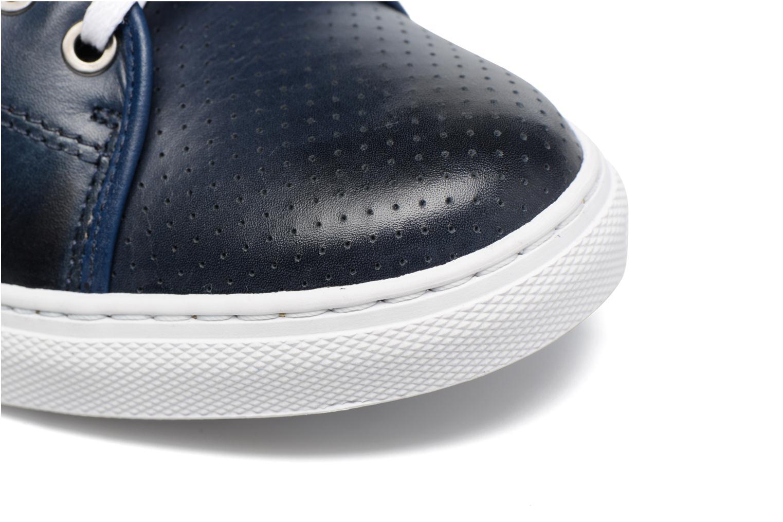 Sneaker Mr SARENZA Stord blau ansicht von links