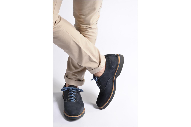 Chaussures à lacets Mr SARENZA Sorges Marron vue bas / vue portée sac