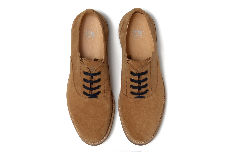 Chaussures à lacets Mr SARENZA Sorges Marron vue portées chaussures