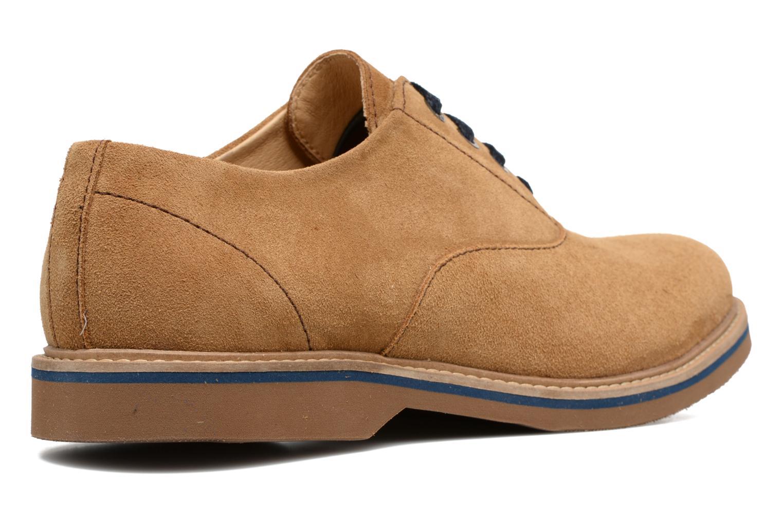 Chaussures à lacets Mr SARENZA Sorges Marron vue face